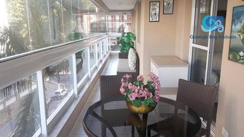 Imagem 1 de 24 de Apartamento Com 3 Dormitórios À Venda, Praia Das Astúrias - Guarujá - Ap4712