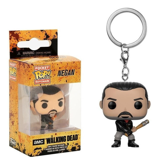 Llavero Funko Pop Negan - The Walking Dead Original