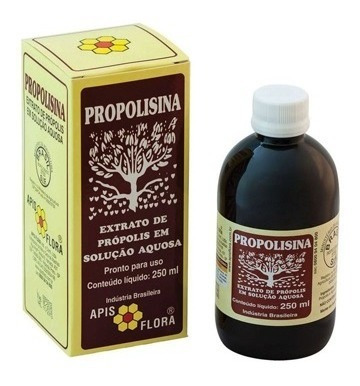 Propolisina Extrato De Própolis Sol. Aquosa Apis Flora 250ml
