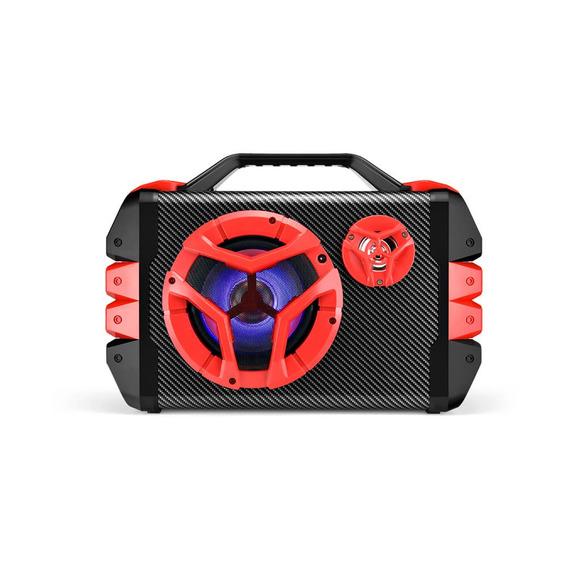Caixa De Som Multiuso Bluetooth/ Microfone Com Alca 100w