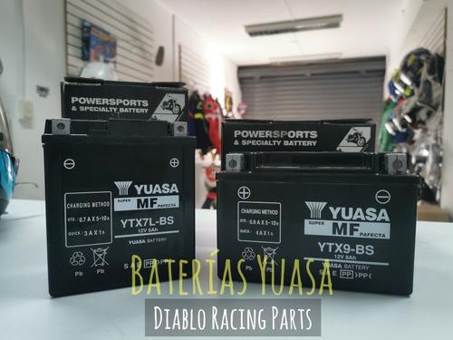 Baterías Yuasa Para Motocicletas