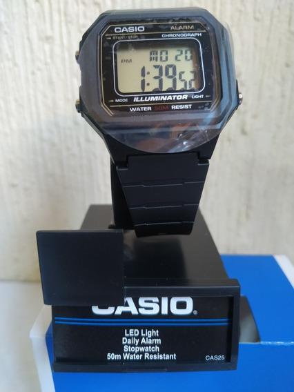 Reloj Casio W-217h-9avcf - Alarma, Cronómetro, Luz, 50m.