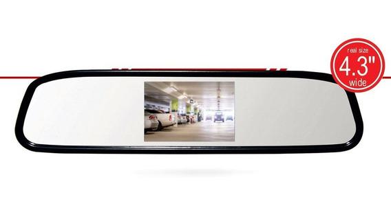 Espelho Retrovisor Roadstar 4.3 Com Câmera Ré Rs501br