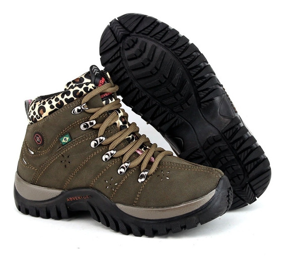 Coturno Bota Feminino Adventure Kit 2 Pares Black Friday