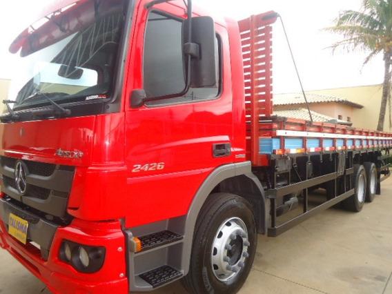M.benz Atego 2426-2013-truck-carroceria-talismã Caminhões