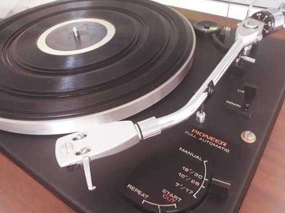 Toca Disco Pioneer Pl-a35 100% Funcionando & Original Full