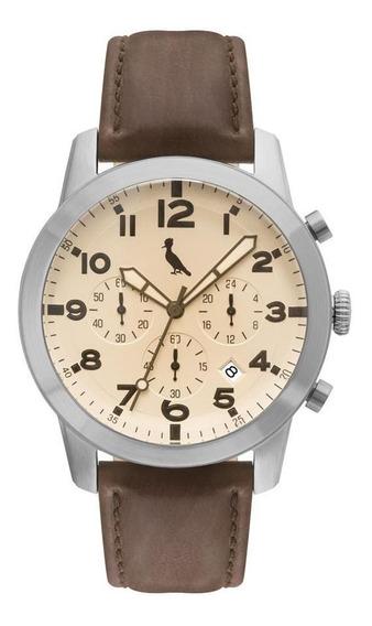 Relógio Reserva Masculino Ref: Rejp25ae/2m Vintage Prateado