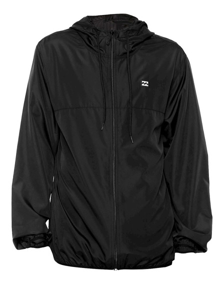 Jaqueta Corta Vento Billabong Tech Windbreaker Blackout