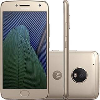Celular Moto G5 Plus Dual Chip Tela 5.2 32gb Sensor Dourado