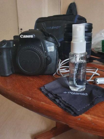Câmera Canon 60d (corpo) + Acessórios