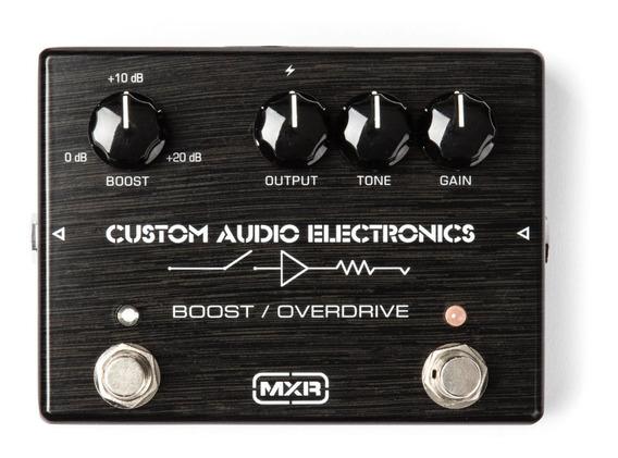 Pedal Mxr Boost / Overdrive Custom Audio Electronics Mc402