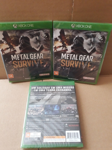 Metal Gear Survive Xbox One Novo Lacrado Xbox One