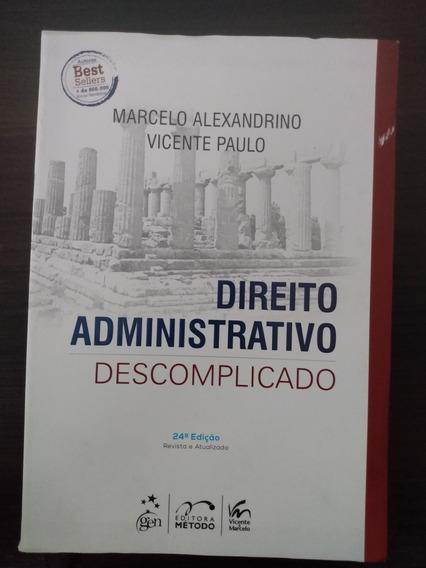 Direito Administrativo Descomplicado - Ano 2016