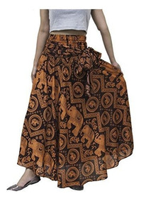 3d40f53ef Lofbaz Falda Bohemia Hippie De Mujer Larga Vestido Gitano Bo