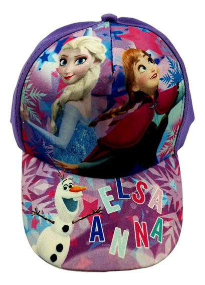 Gorra Frozen Elsa Y Anna Infantil Original