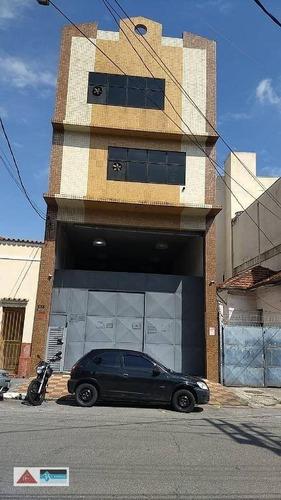Loja Com Sobreloja Para Locação- Pari - São Paulo/sp - Lo0054