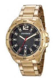 Relógio Mondaine Dourado Masculino 53704gpmvde1 C/ N. Fiscal