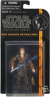 Figura Acción Anakin Skywalker / Star Wars - The Black Serie
