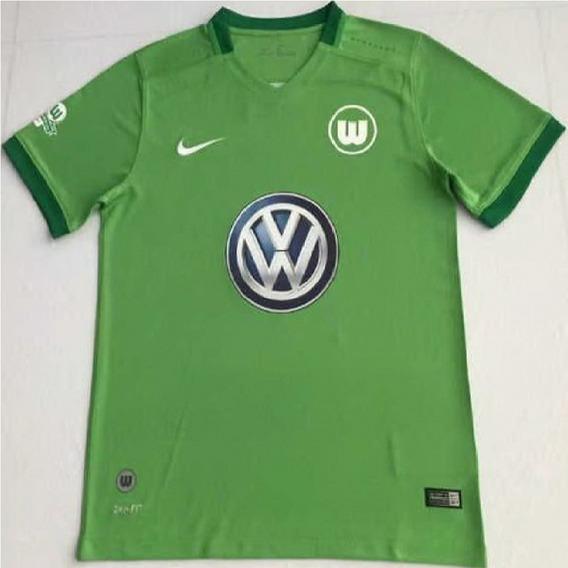 Camiseta Wolfsburg De Alemania Titular 2017/18 Original