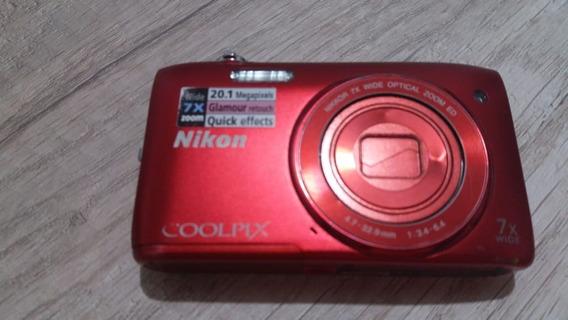 Câmera Nikon Coolpix S3400 - Leia A Descrição