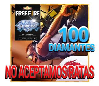 Free Fire Diamantes 100 Más Bonus Premios