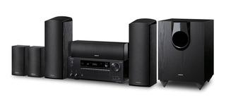 Onkyo Hts 7800 Kit Home 5.1.2 Dolby Atmos Sub Ativos + Cabos
