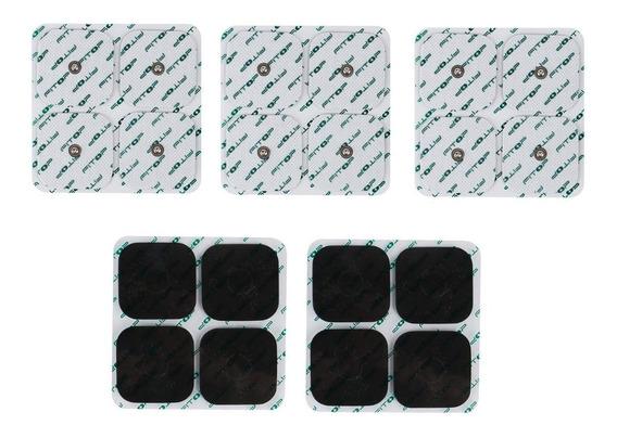 Eletrodo Compex 40 Unidades Compativel Kit Tens Fes