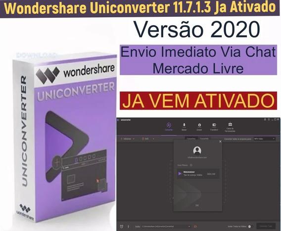 Wondershare Uniconverter 11.7.0.3 Envio Imediato