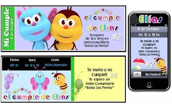 Kit Imprimible De Bichitos Infantiles