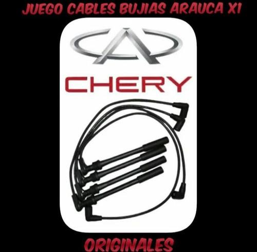 Imagen 1 de 1 de Cables De Bujias Chery Arauca/x1 Original