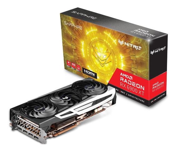 Placa De Video Sapphire Rx 6900 Xt Nitro+ 16gb 4k Radeon