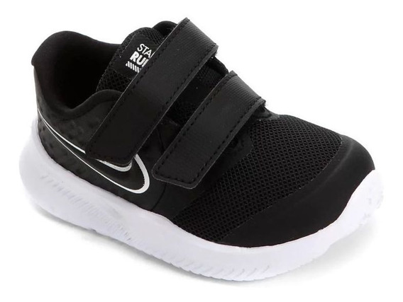 Tênis Nike Star Runner 2 Preto Branco Original C/nota Fiscal