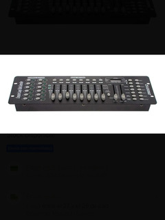 Consola Dmx 512 Profesional 192 Canales