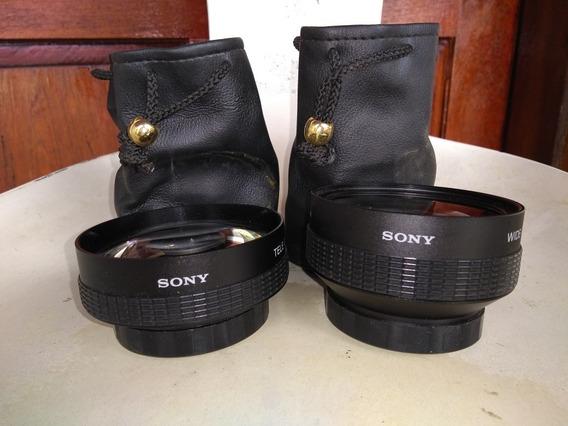 Jogo De Lentes Para Filmadora Digital Sony