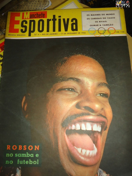 Manchete Esportiva Nº 04 Nelson Rodrigues Dez 1955