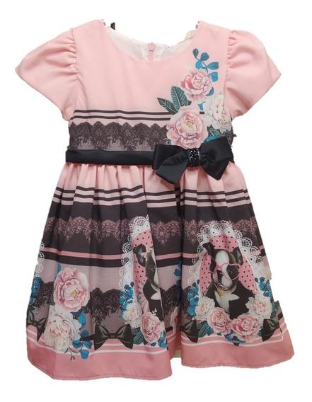 Vestido Infantil Festa Petit Cherie Baby Flower Charm 004