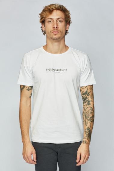 Camisa Sense Casual Wear Corrente Camiseta Masculino Branco
