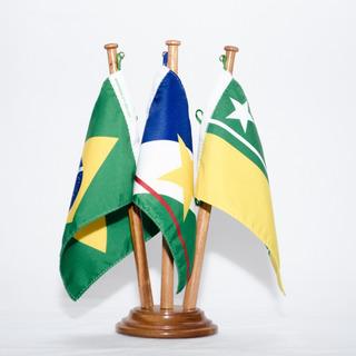 Bandeira De Mesa Brasil Roraima Boa Vista