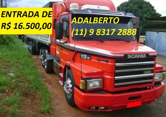 Scania 113 98 Com Grabeleiro 2006 Com Divida