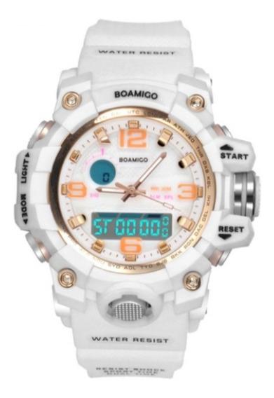 Relógio Feminino Boamigo F5100l Original S-shock Elegante