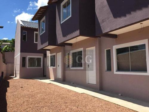 Sobrado Com 2 Dormitórios À Venda, 49 M² Por R$ 180.000,00 - Tarumã - Viamão/rs - So0113
