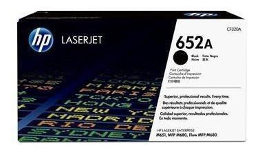Cartucho De Toner Hp 652a Preto Laserjet - Cf320a