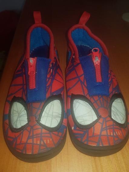 Zapatillas Para Agua Spiderman