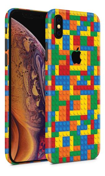 Skin Bloques Colores Para Telefonos Apple iPhone