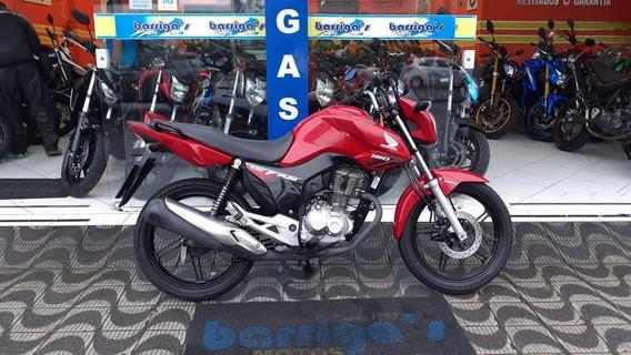 Honda Cg Fan 160cc 2018 Vermelha Impecável