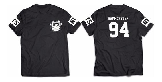 Bts Bangtan Boys Remera Nº17 Rap Monster Namjoon Monie Kpop