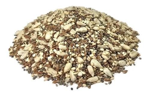 Mix De Semillas Comestible Por Kilo Lino Chia Sesamo Girasol