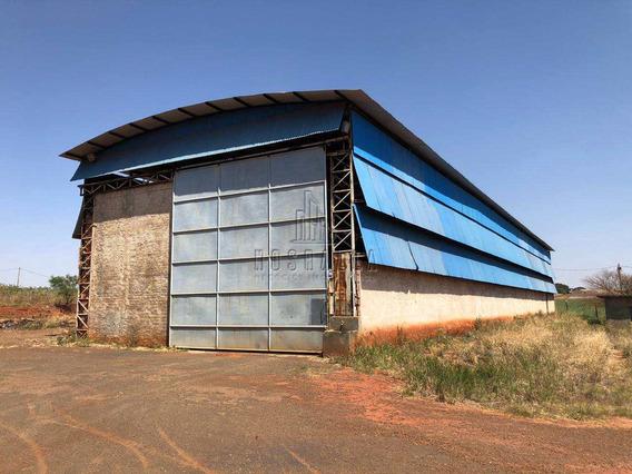 Armazém/barracão, Lusitânia, Jaboticabal - R$ 850.000,00, 850m² - Codigo: 206200 - A206200