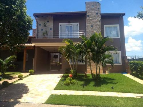 Casa À Venda, 236 M² Por R$ 800.000,00 - Condomínio Aurora - Paulínia/sp - Ca14536