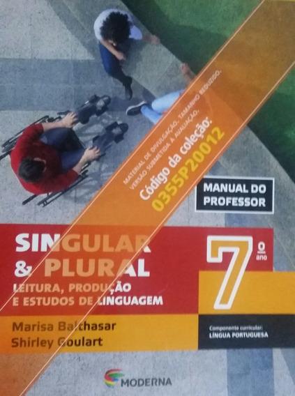 Singular E Plural Língua Portuguesa 7º Ano Pnld 2020